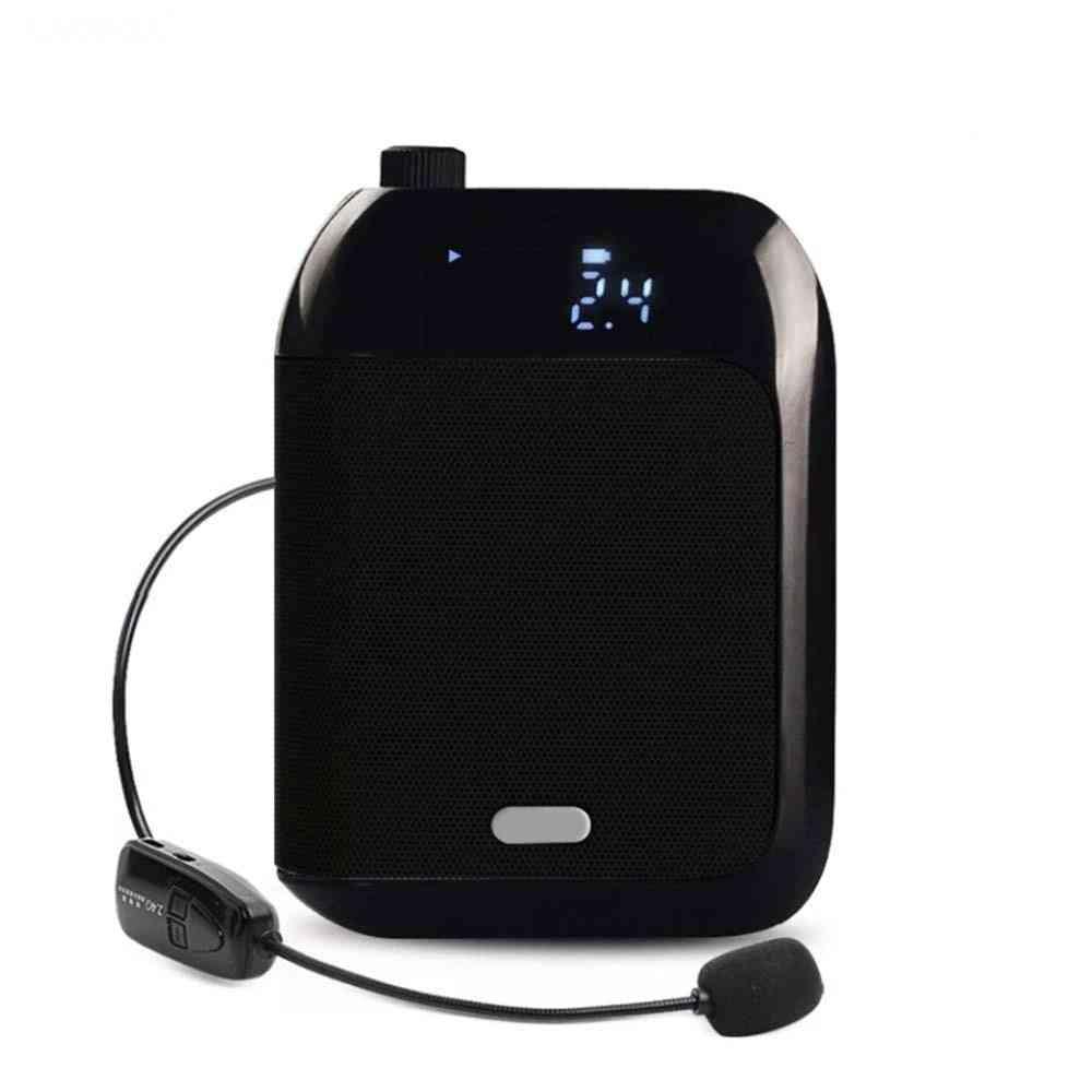 2.4g Wireless Microphone Voice Amplifier For Guide Teacher