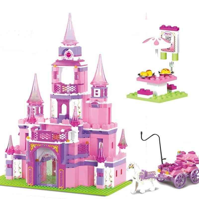 Princess Series Big Garden Villa Castle Palace -building Block Model Toy