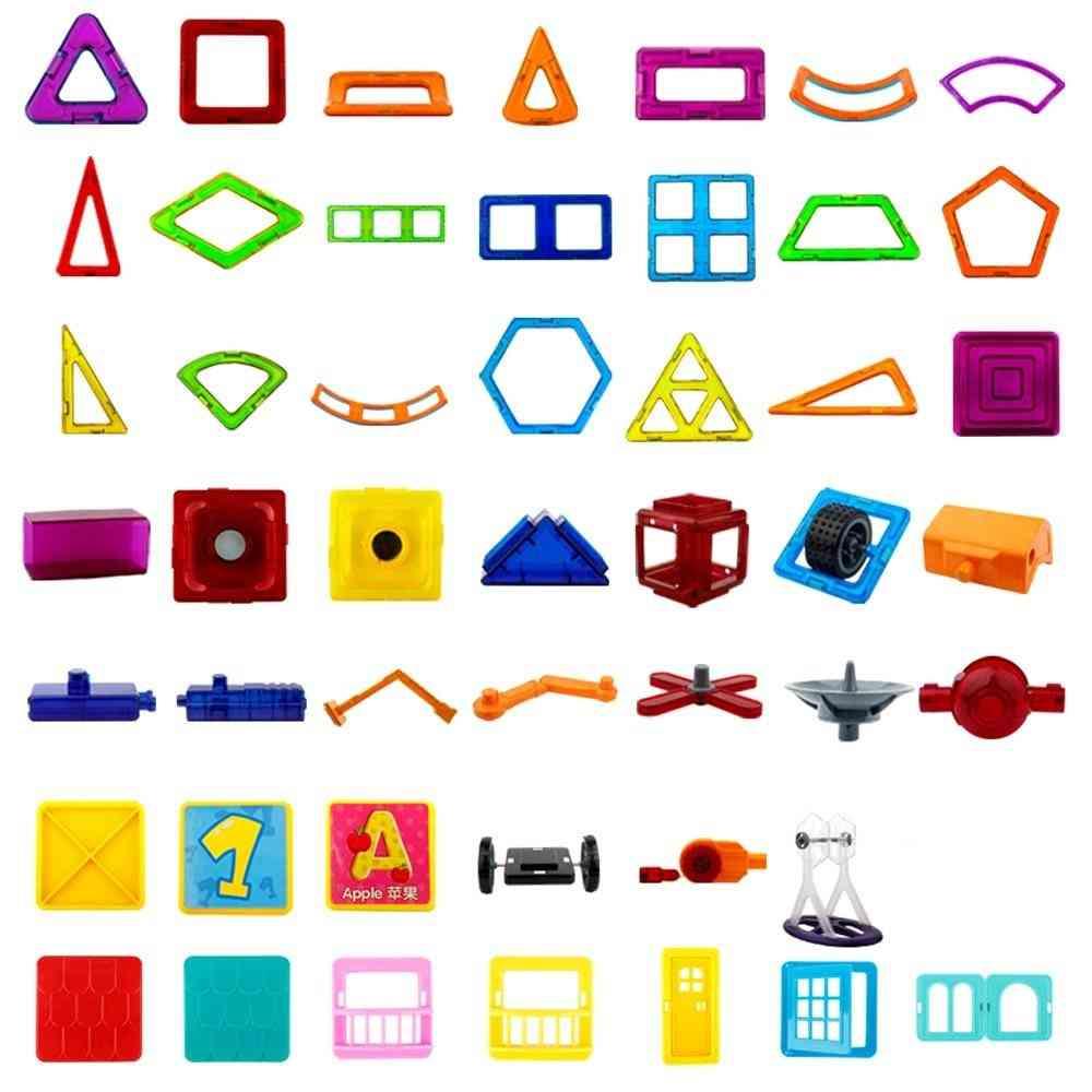 Modeling Accessories Magnetic Designer Building Blocks - Educational