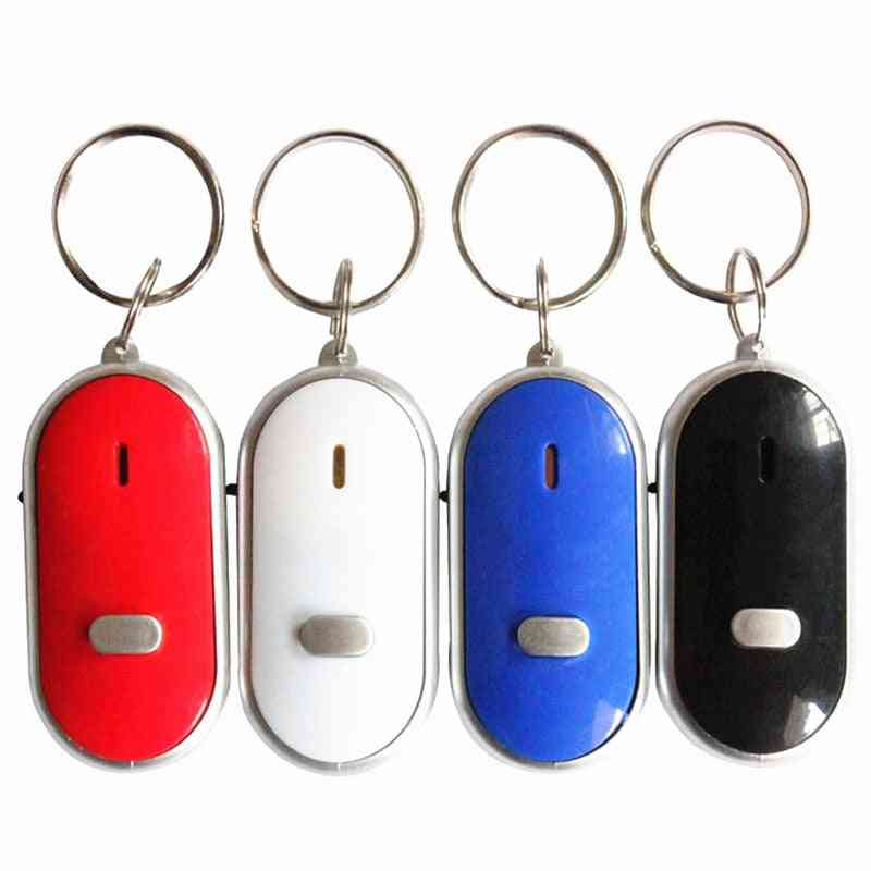 Portable, Smart Wireless, Anti-lost Keychain- Whistle With Flash
