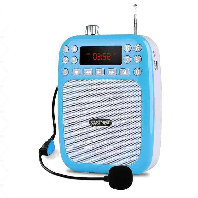 Portable Speaker With Fm Radio And Support Tf Memory Card