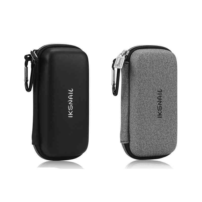 Portable Digital Voice Recorder-carrying Cover Case With Carbines