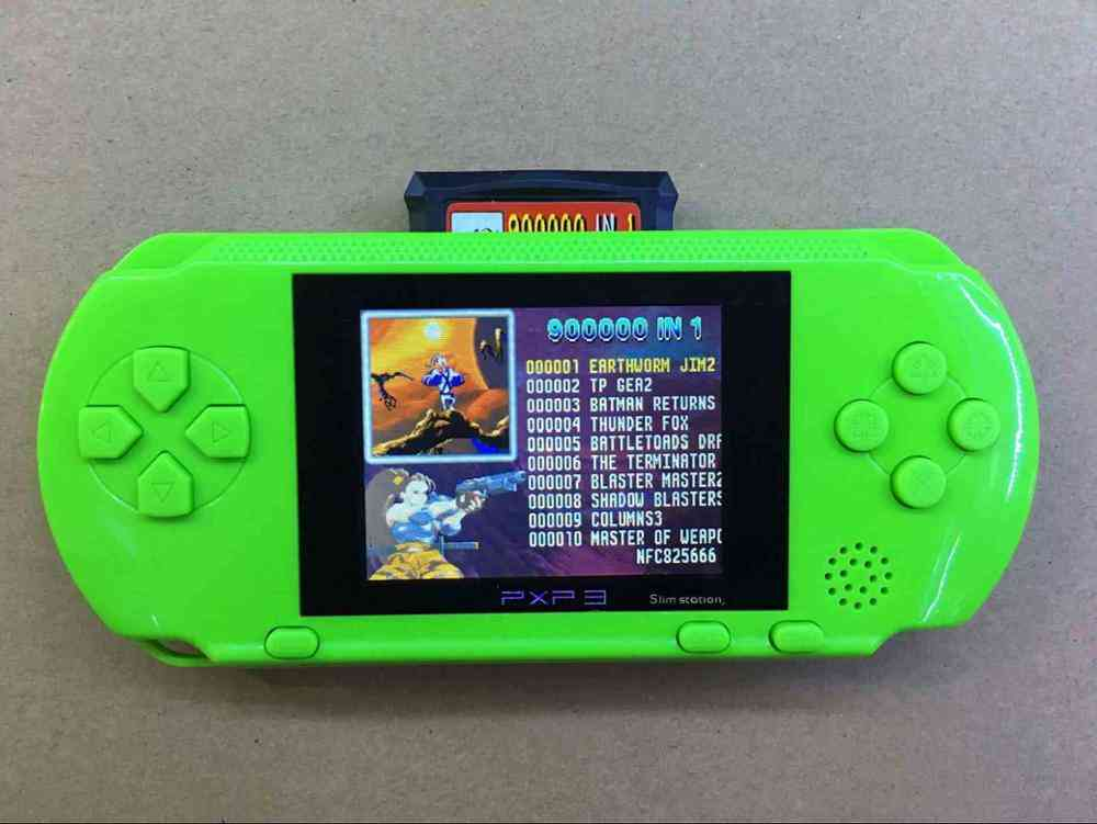 Portable Slim Station Video Games Player - Handheld Gaming Console