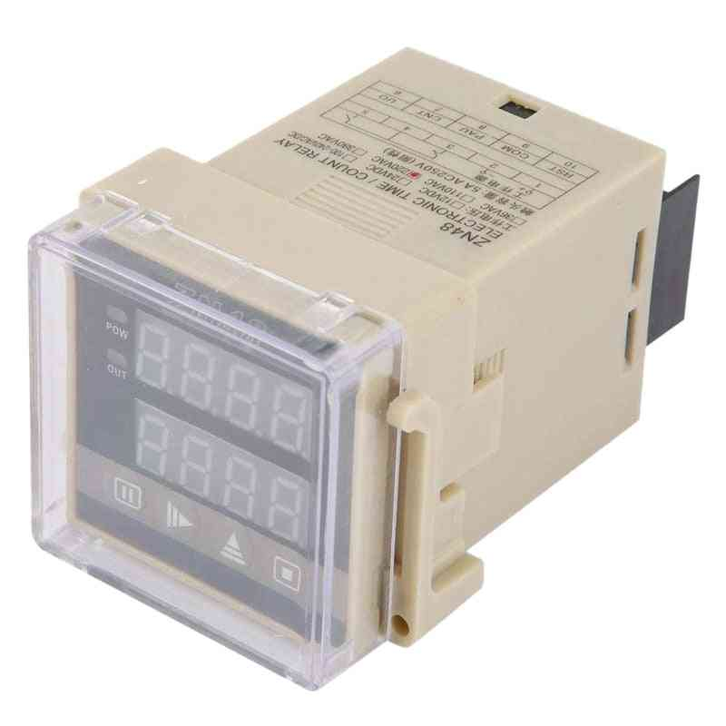 Digital Time Relay Counter - Multifunction Rotating Speed Frequency Meter
