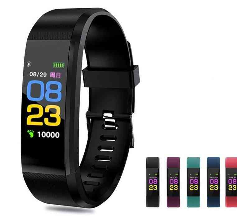 Smart Fitness Tracker-blood Pressure, Heart Rate Monitor, Sports Pedometer
