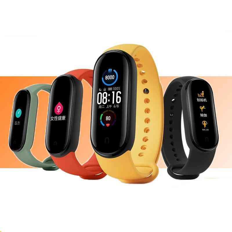 Smart Bluetooth Bracelet Mi Band - 5 Global Version, Heart Rate Fitness Tracker
