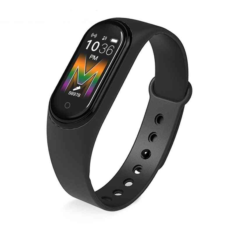 M5 Waterproof  Smart Watch - Blood Pressure, Heart Rate And Fitness Tracker Wristband