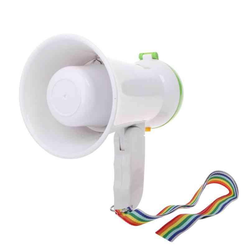 Mini Handheld Megaphone - Bullhorn Loudspeaker Amplifier