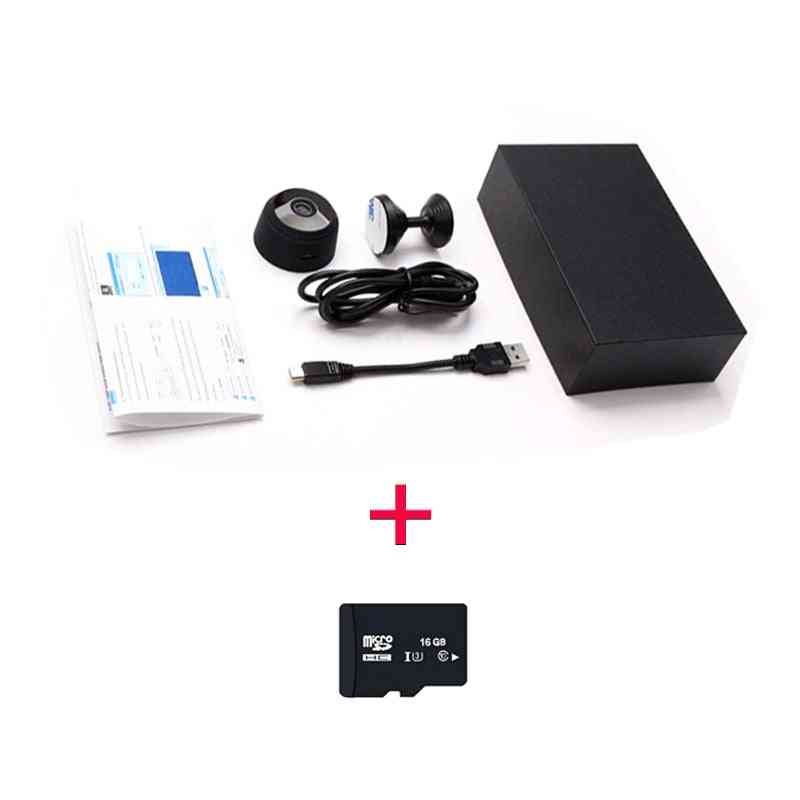 Mini Portable 1080p Camera - Room Security Wifi Night Vision Surveillance