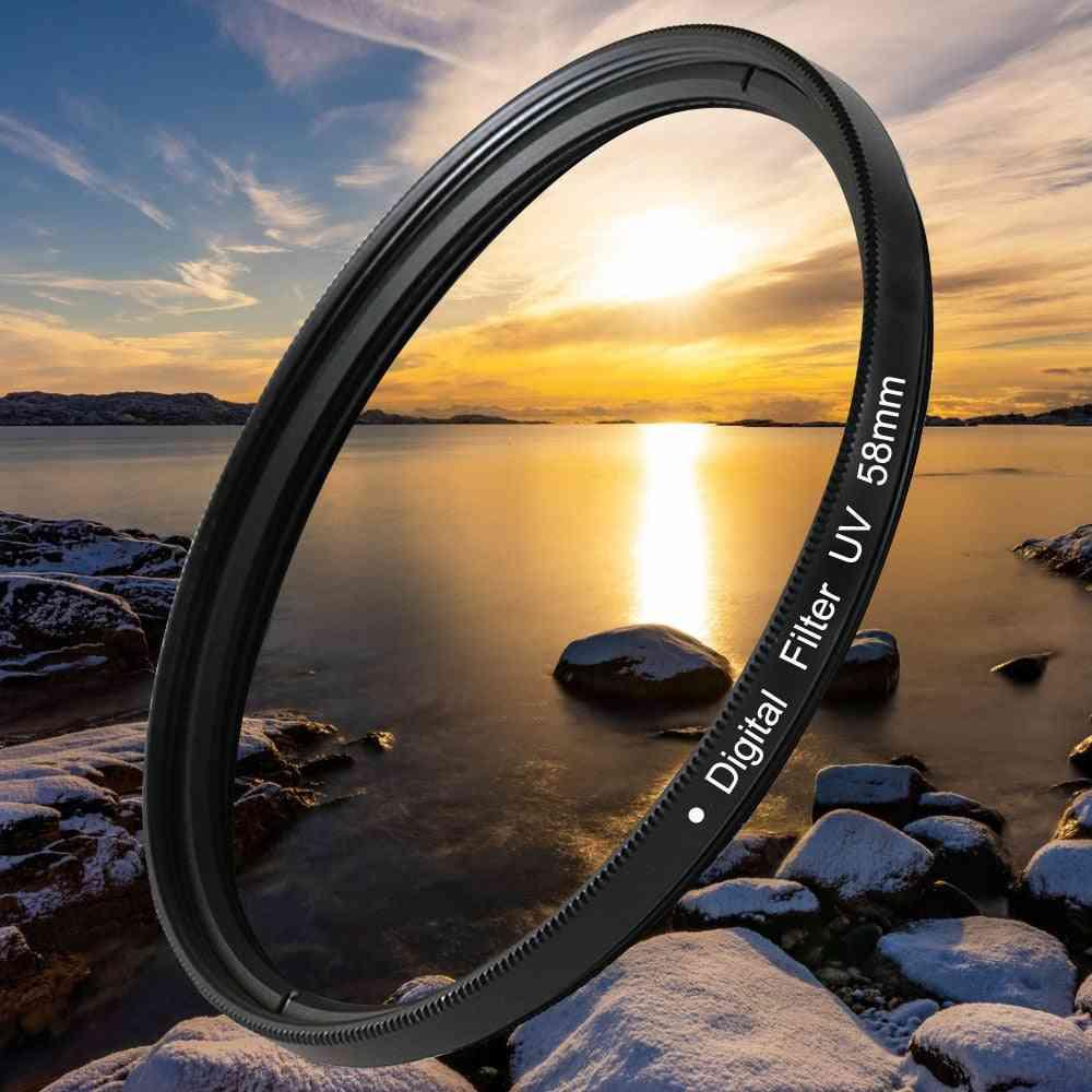 Lens Uv Digital Filter Lens Protector For Canon, Nikon Dslr Slr