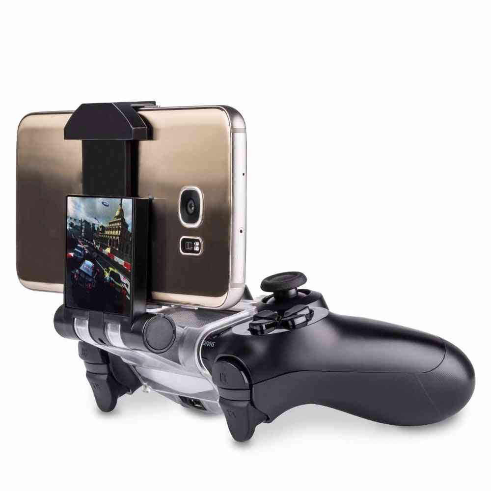 Mobile Phone Holder Smart Clamp Fit For Ps4 Playstation 4 Controller With Otg Micro Usb Cable