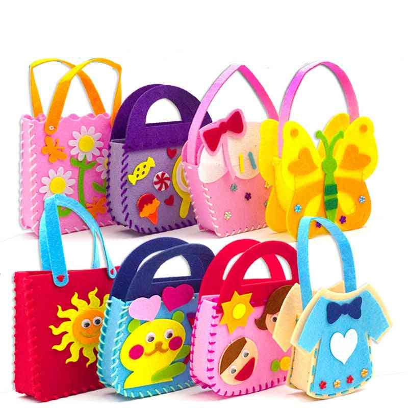 Animal Handbag, Arts Crafts Educational Handicraft For