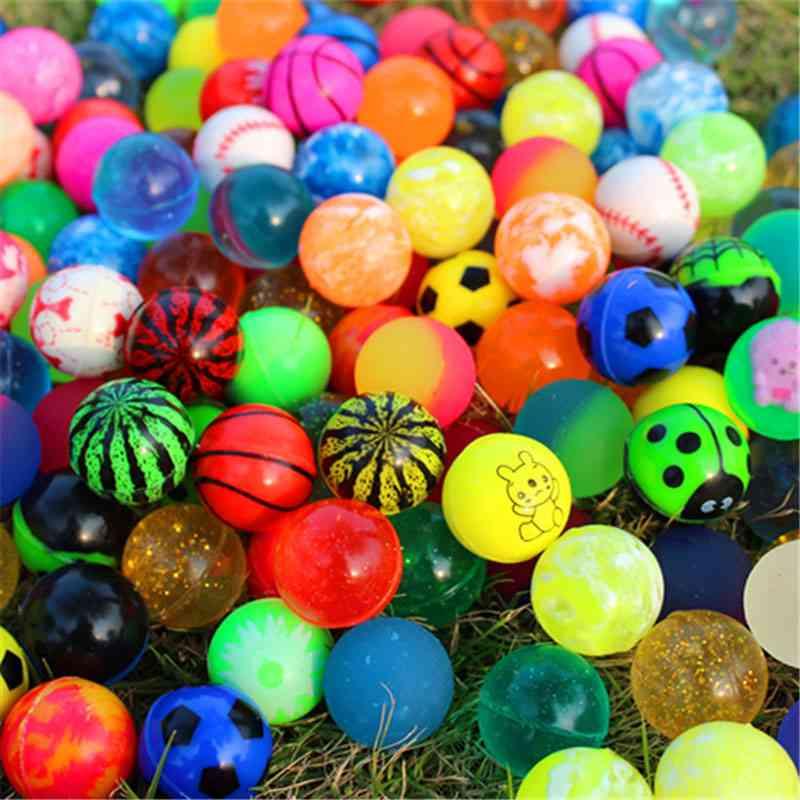 Mixed Bouncing Rubber Balls - Outdoor