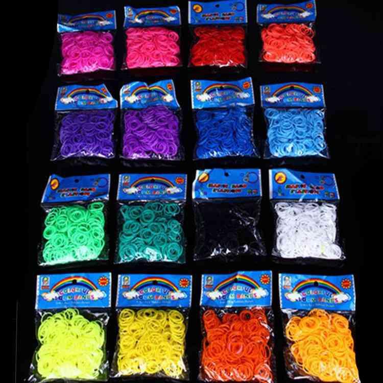 Multicolor Lacing Bracelet, Loom Bands For