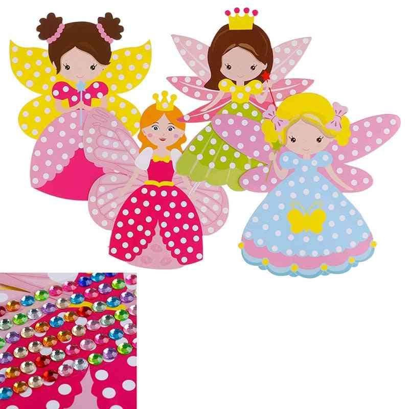 Children Diy Fairy Stick - Handmade Princess Magic Toy