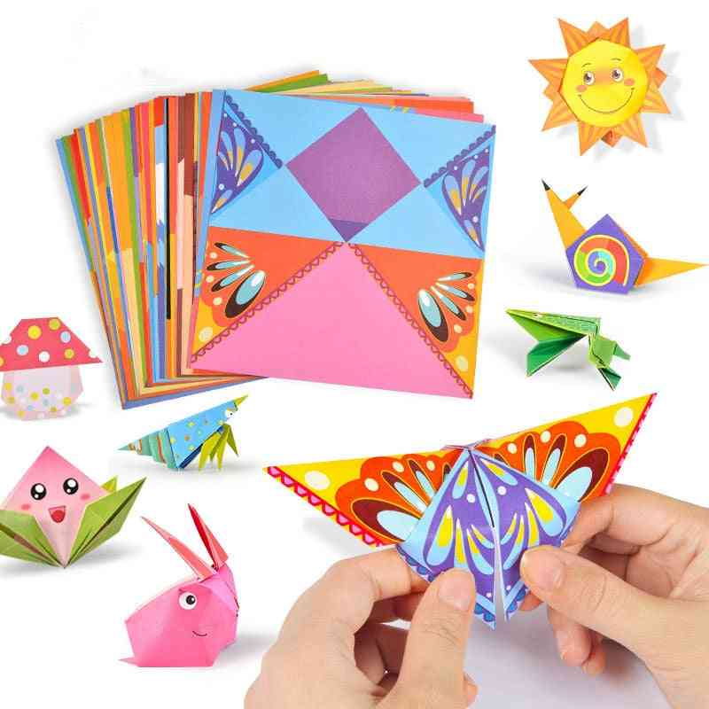 3d Origami Cartoon Animal Book Toy - Diy Paper Art Baby Early Learning Education