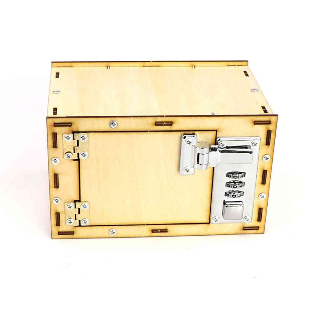 Set Of Mechanical Password Box-kids Science Projects Experiment Kits