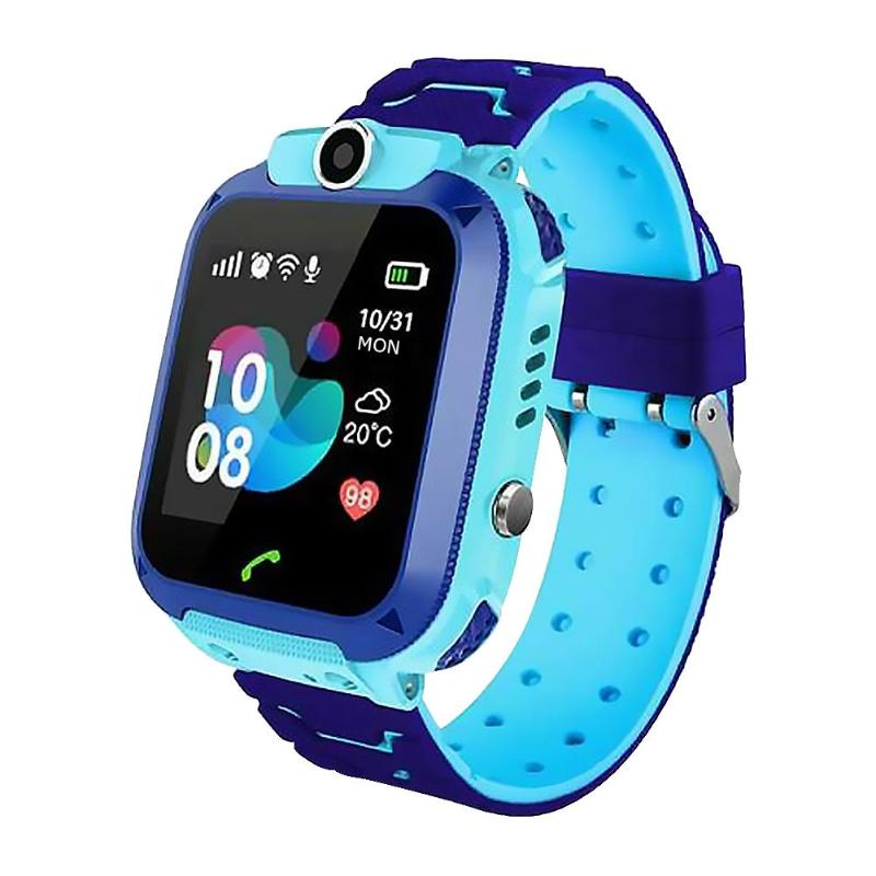Smart Watch - 4g Wifi Gps Tracker, Digital Sos Alarm Clock And Camera For