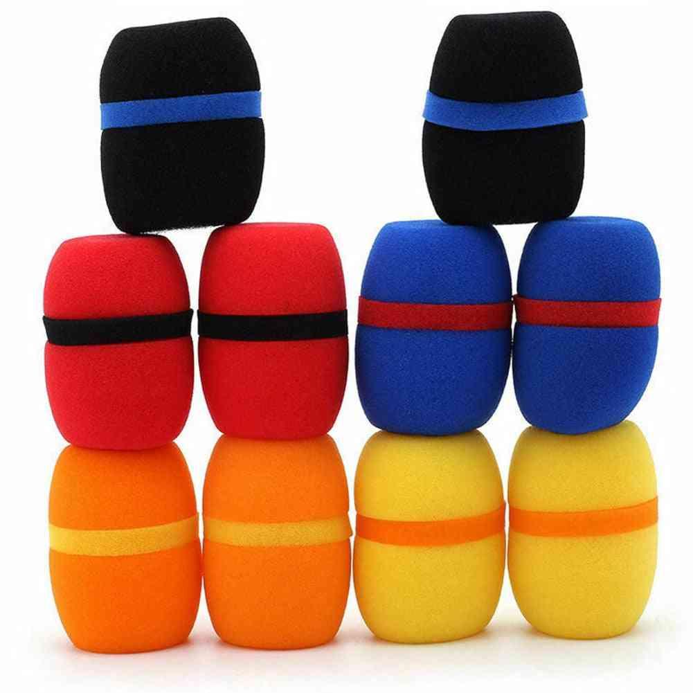 Microphone Cover Studio Cap Foam Accessories