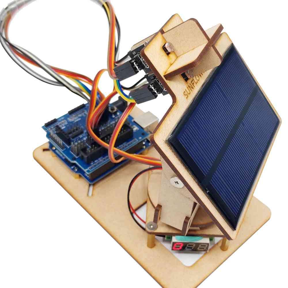 Arduino Intelligent Solar Tracking Equipment - Stem Programming Parts