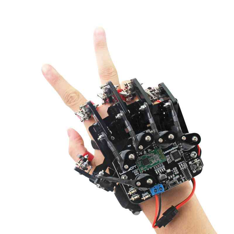 Wearable Mechanical Gloves - Sense And Robot Control