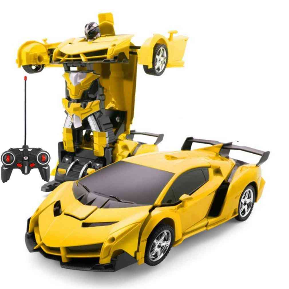 Rc Car Transformation - Sports Vehicle Model Robots With Battery