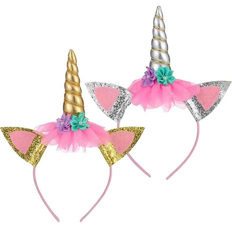Cartoon - Unicorn Headband For