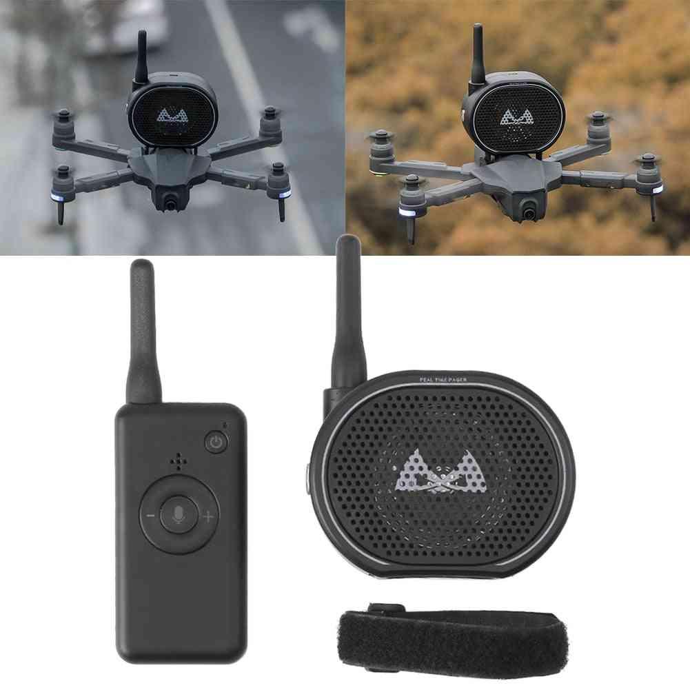 Mini Portable  Usb Charging Remote Control Drone, Megaphone Wireless Speaker