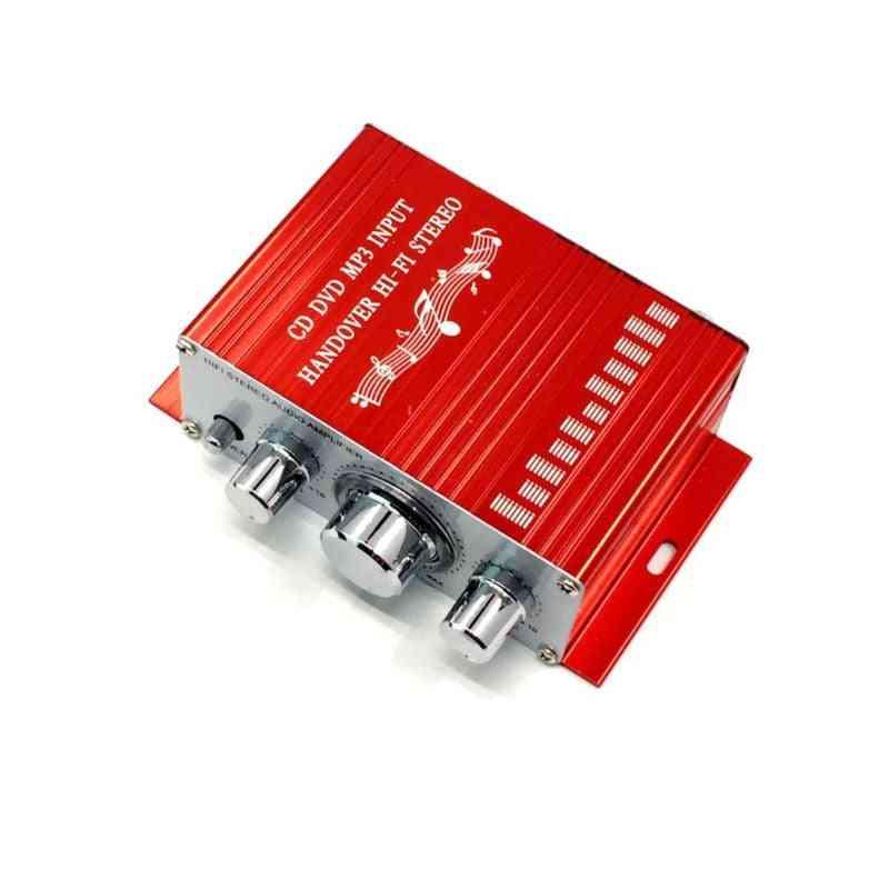 2.0 20w*2  12v Mini Amplifier Home Audio Furnishing Furniture Car Hifi Amplifier