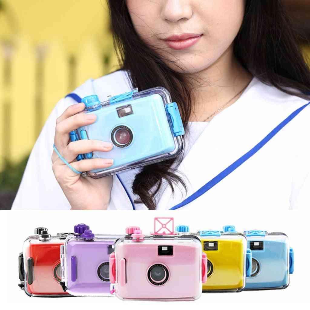Waterproof, Mini 35mm Film Format Camera