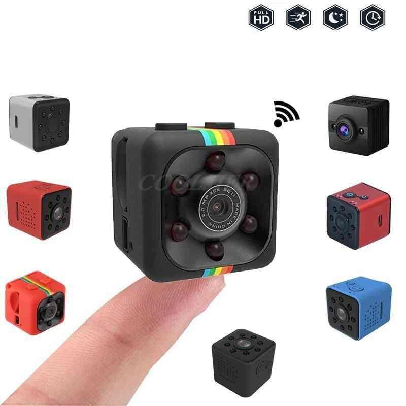 Mini Camera Sq11/sq12 Full Hd 1080p Night Vision - Sport Camcorder, Waterproof Shell
