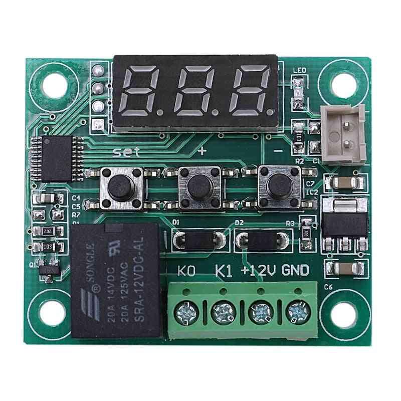 12v Dc Digital Temperature Controller Board