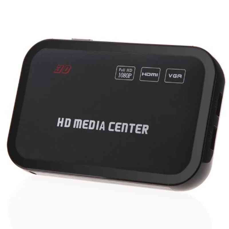 1080p Full Hd Media Player Center With Remote Cont