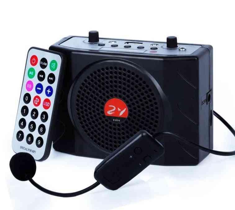 Uhf Wireless Microphone, Amplifier - External Loud Speaker
