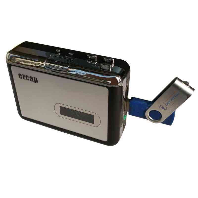 Cassette Tape To Mp3 Convertor-usb-powered Operation