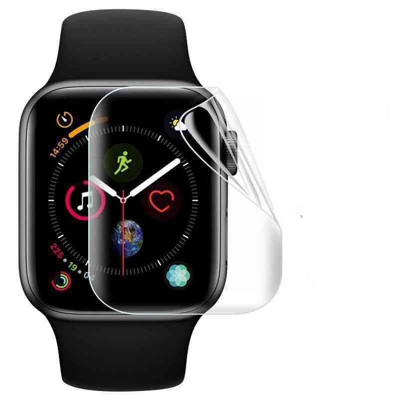Screen Protector For Apple Watch - 9d Hydrogel Film Tempered Glass