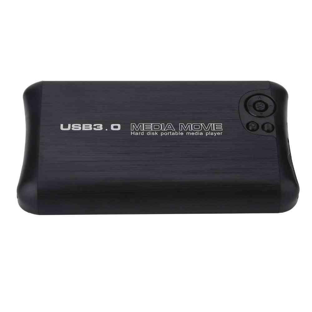Usb3.0, Full Hd-1080p-portavle Media Player Hard Disk