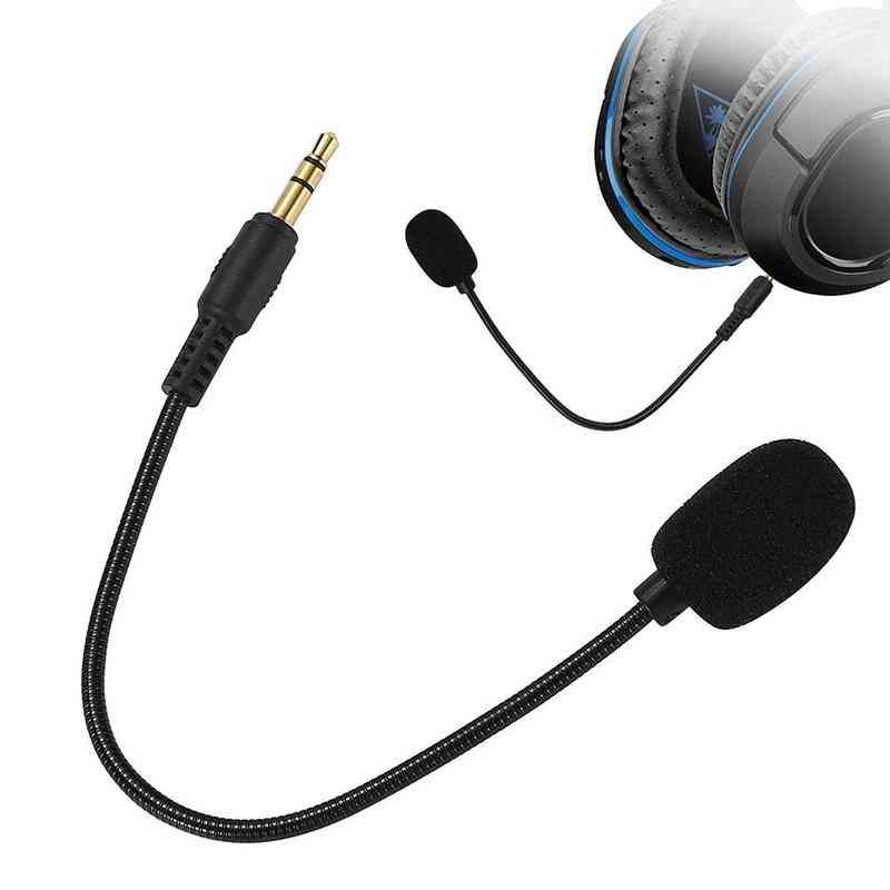 Adjustable 360 Degrees Bendable Gaming Headset Microphone