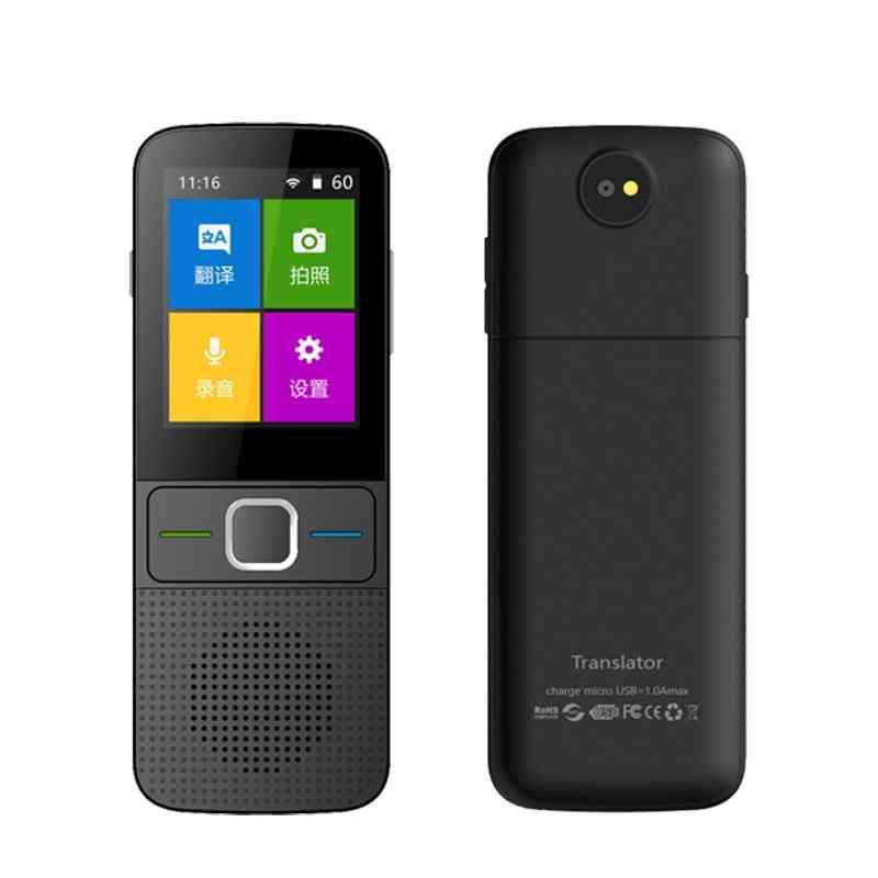 T10 Portable 14 Languages Offline Voice Translator - 137 Multi Languages