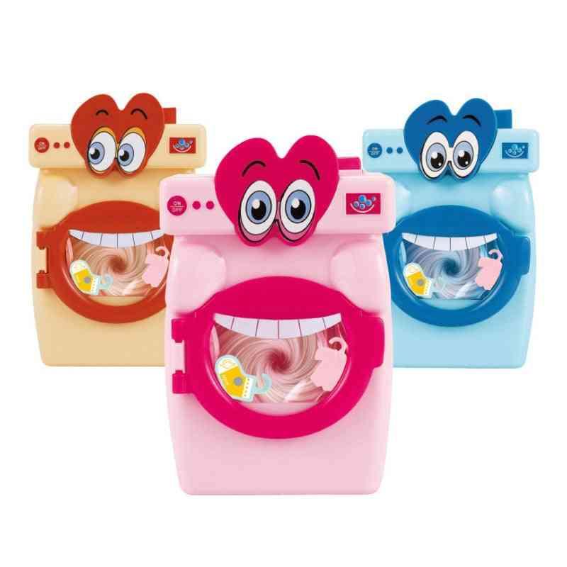 Cartoon Big Mouth Washing Machine, Toy For Girl