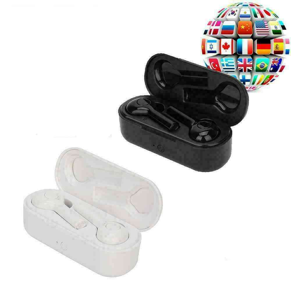 Portable, Wireless, Bluetooth 5.0-instant Voice Translator Headphone, Support 33+ Languages