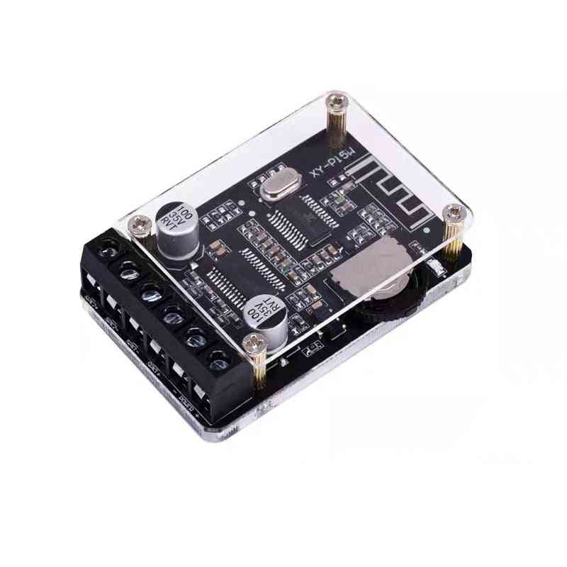 Dual Channel, Digital Bluetooth 5.0-audio Amplifier With Case