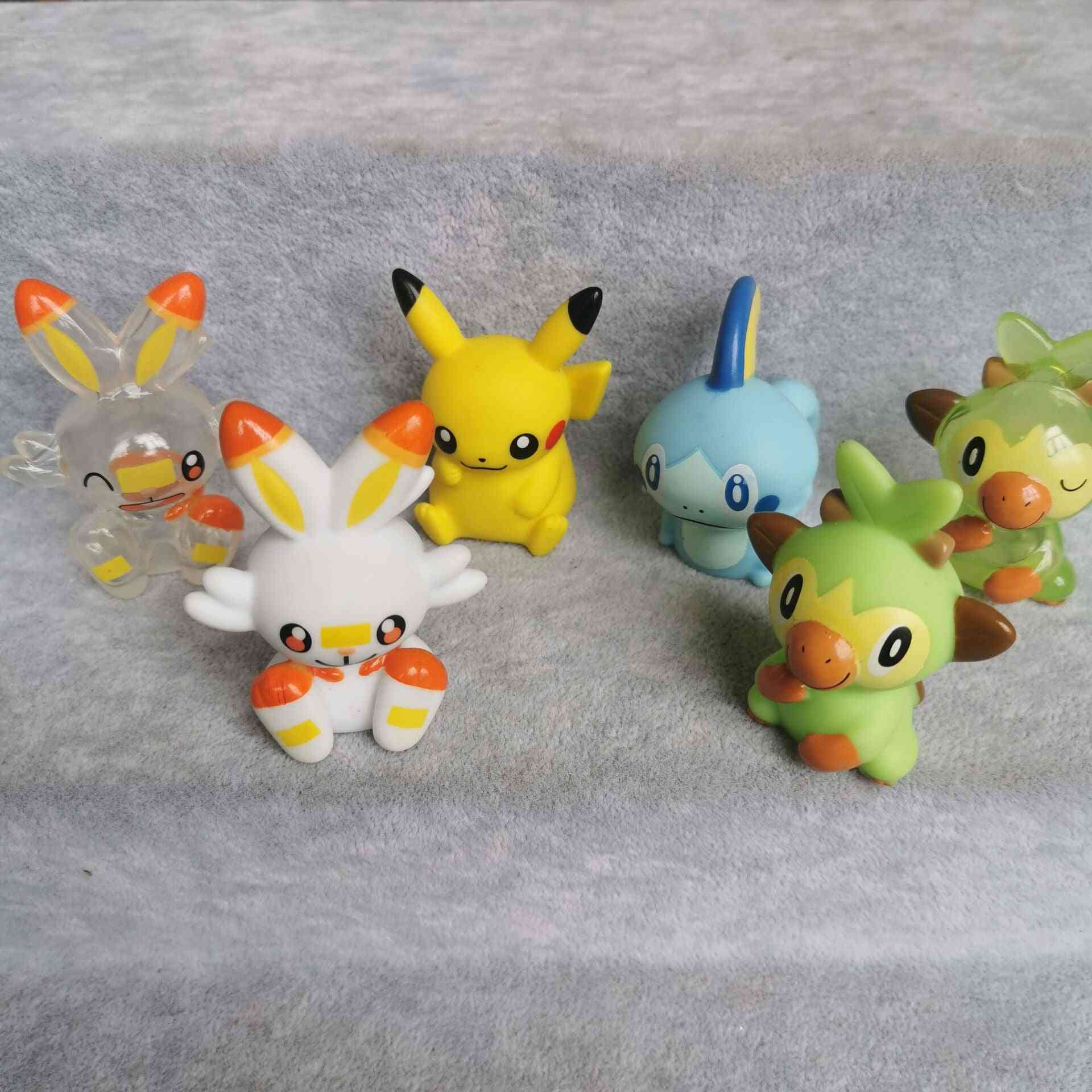 Pokemon/pikachu Squirtle Finger Puppets For