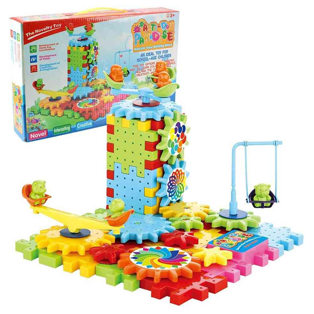 Creative Gear Building Block Toy Set - Learning Education