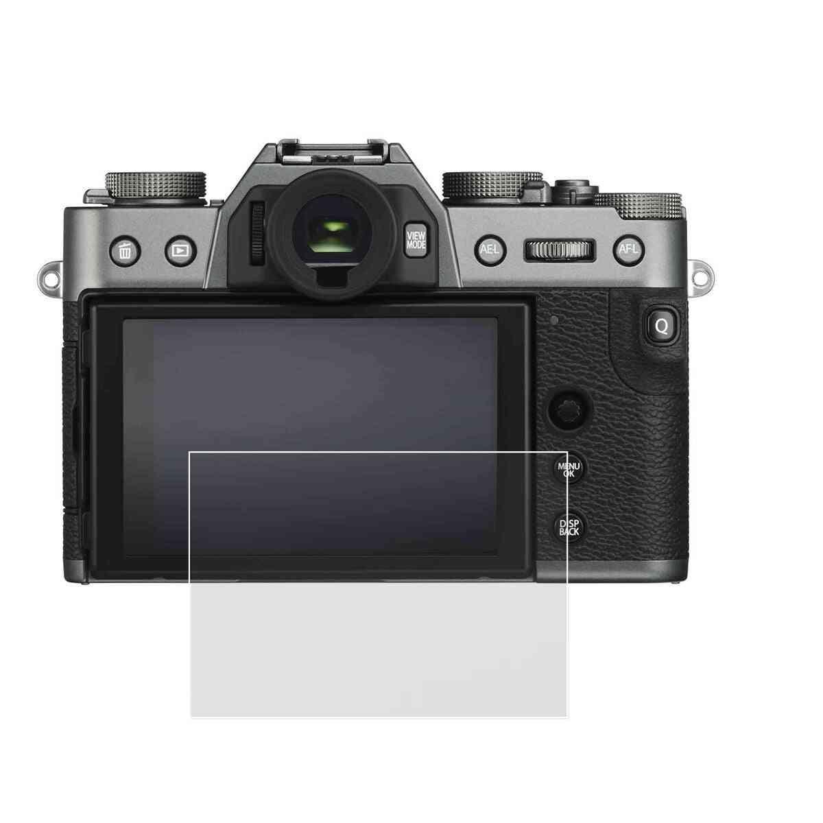 Self-adhesive Tempered Glass- Lcd Screen Protector For Fujifilm Camera