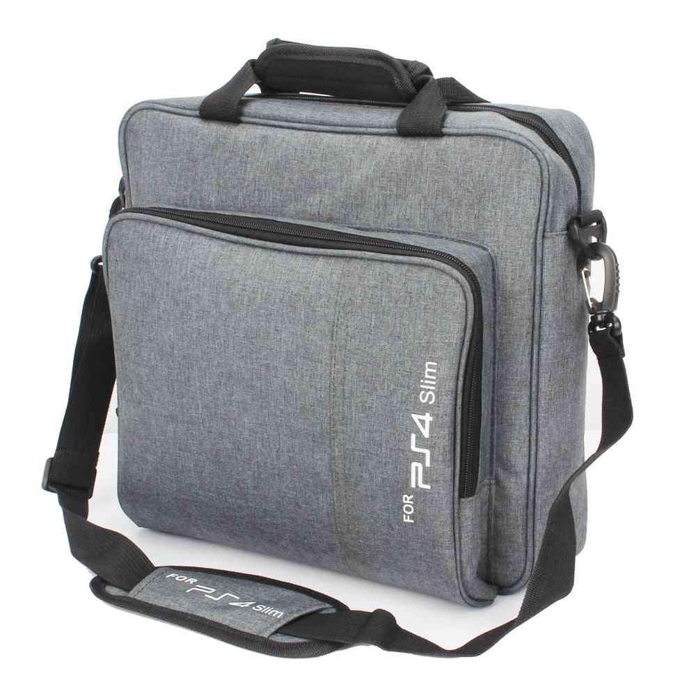 Slim Game Sytem Bag - Shoulder Carry And Canvas Case