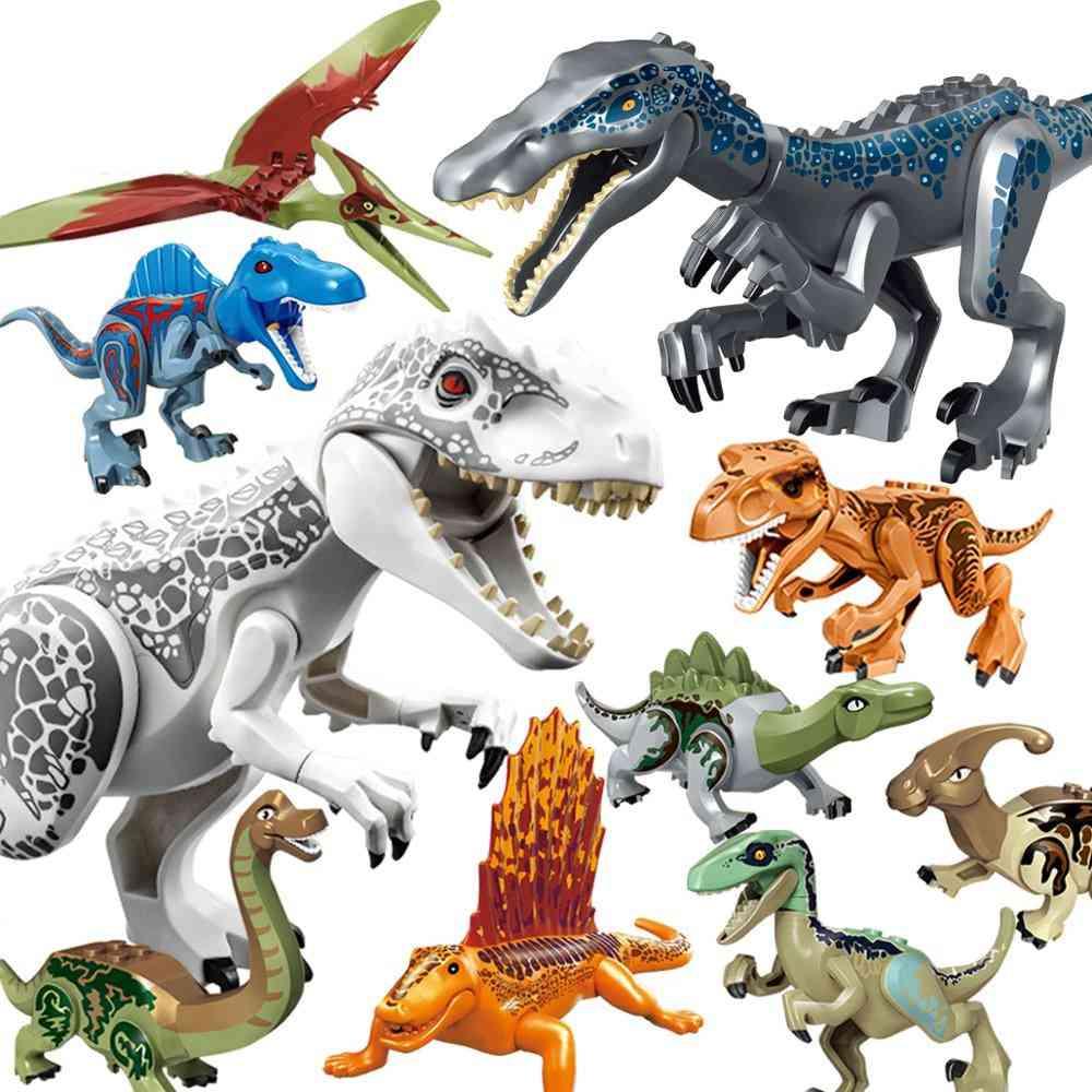 Lockings Jurassic Dinosaurs World Park Dinosaur Raptor Protection Zone-animals   Building Blocks Set