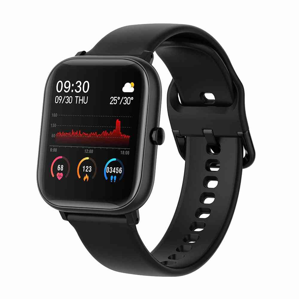 Smart Bracelet Heart Rate Monitor, Waterproof Sports Smart Watch For Support Android Ios