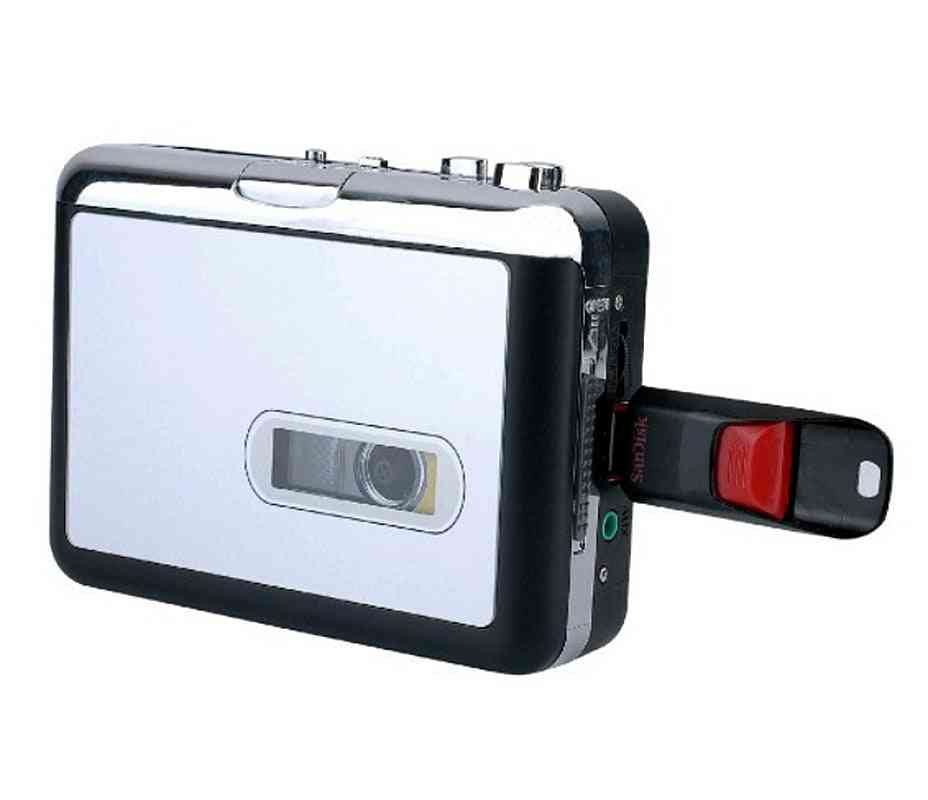 Cassette Player-usb Walkman-tape To Mp3 Converter With Earphone