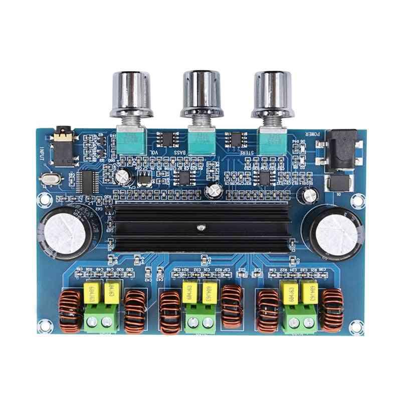 Digital Power Amplifier Board, 2.1 Channel Stereo Class D
